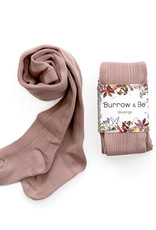 Burrow & Be Burrow & Be - Rib Stockings Dusty Pink