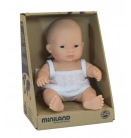 Miniland Miniland Baby Doll 21cm - Asian Girl