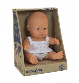Miniland Miniland Baby Doll 21cm - Caucasion Boy