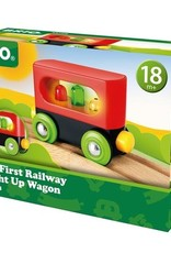 Brio Brio - My First Railway Light Up Wagon