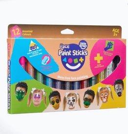 Little Brian Little Brian Face Paint Sticks - 12