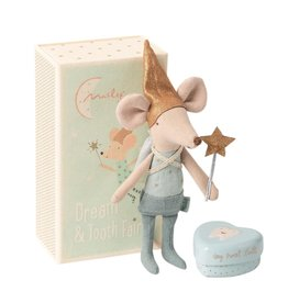 Maileg Maileg - Tooth Fairy Mouse In Box Brother (New)
