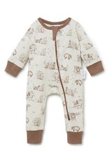 Aster & Oak Aster & Oak - Badger Zip Romper