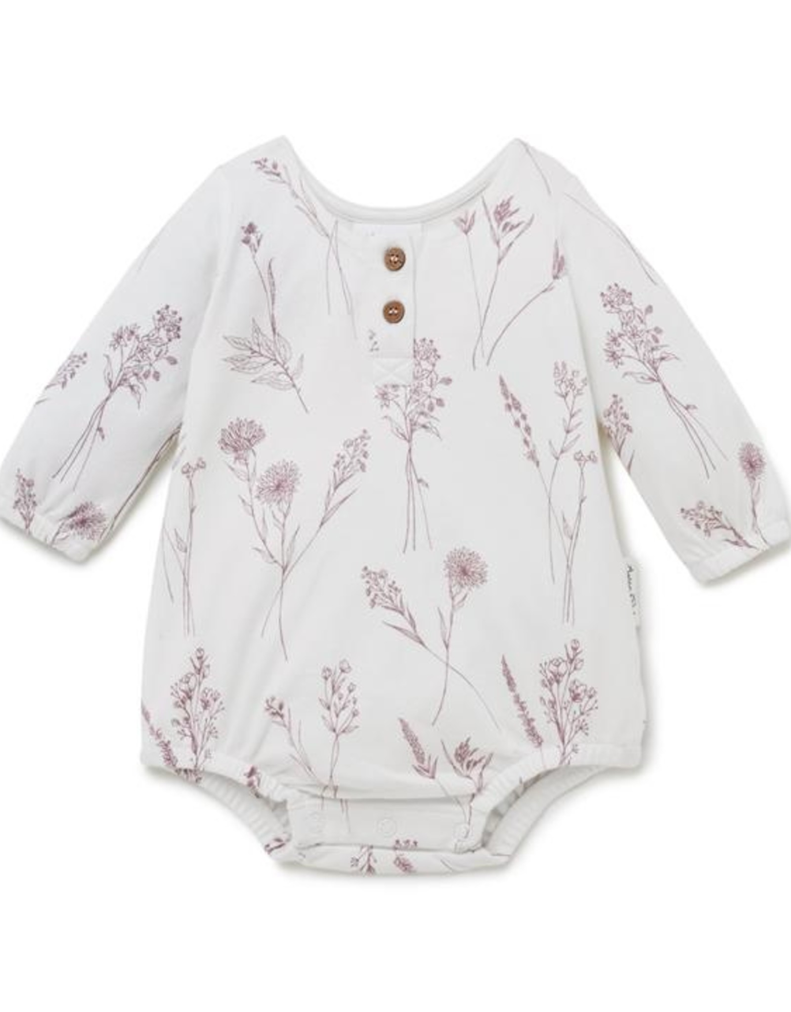 Aster & Oak Aster & Oak - Wildflower Bubble Romper