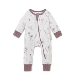 Aster & Oak Aster & Oak - Wildflower Zip Romper