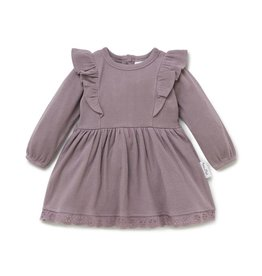 Aster & Oak Aster & Oak - Elderberry Ruffle Dress