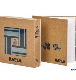 Kapla Kapla - Book & 40 Planks Colors Blue/Light Blue