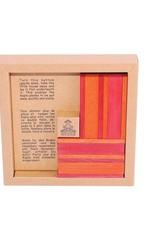 Kapla Kapla - Book & 40 Planks Colors Red/ Orange