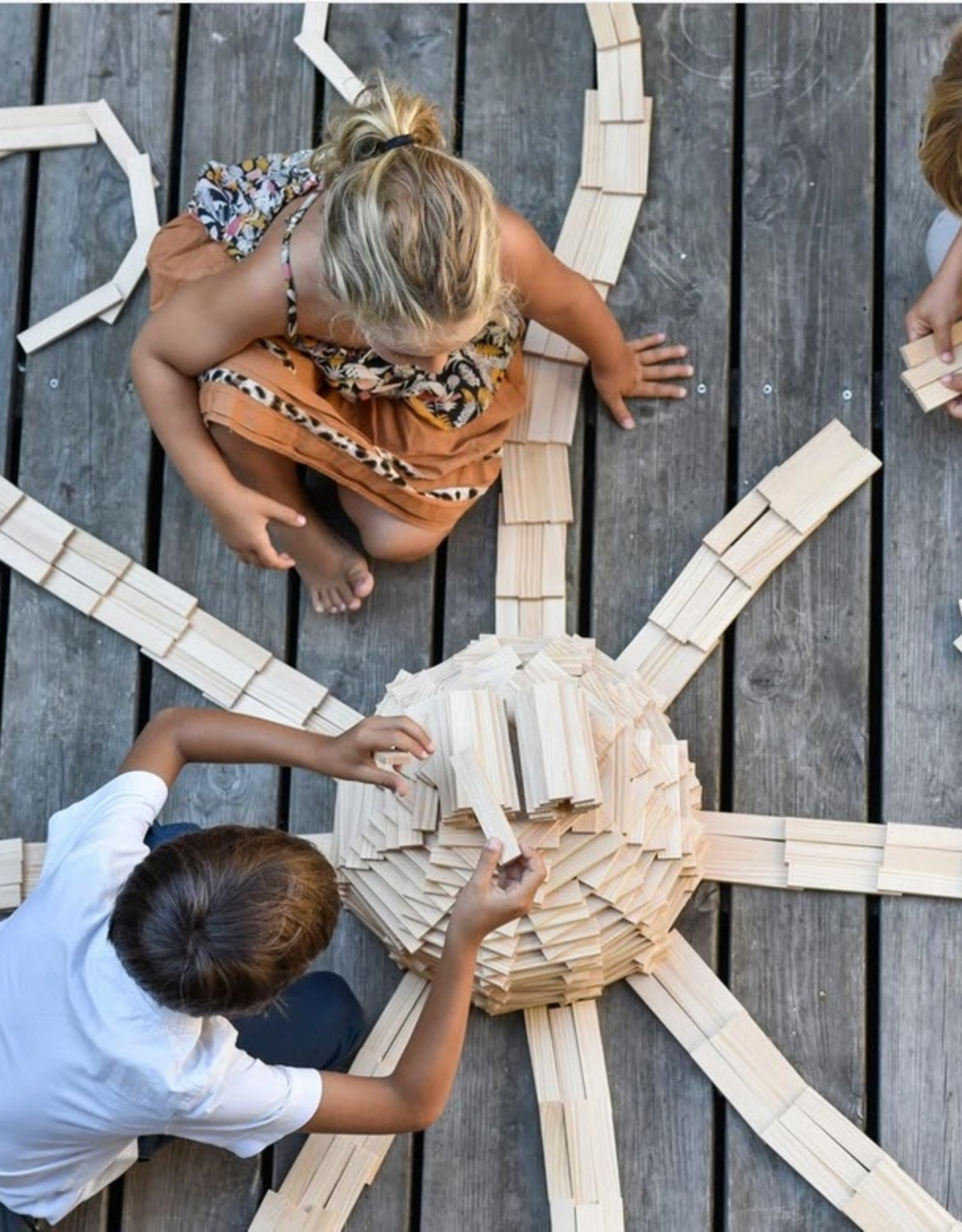 Kapla Kapla - 200 Plank  Building Set