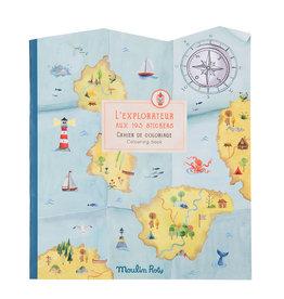 Moulin Roty Moulin Roty - Jardin Explorer Sticker Book