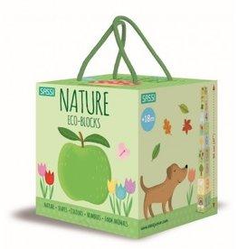 Sassi Sassi - Nature Eco Blocks & Book Set