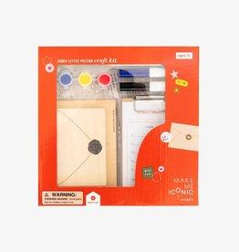 Make Me Iconic Make Me Iconic - Letter Posting Craft Kit