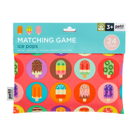 Petit Collage Petit Collage - Matching Game Ice Pops