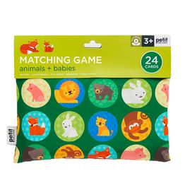 Petit Collage Petit Collage - Matching Game Animals & Babies