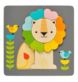 Petit Collage Petit Collage - Chunky Little Lion Wood Puzzle