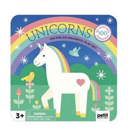 Petit Collage - Unicorn Magnetic Playset