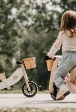 Kinderfeets Kinderfeets - 2 in 1 Tiny Tot Trike Plus White
