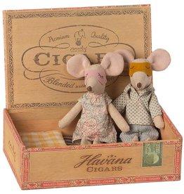 Maileg Maileg - Mum & Dad In Cigar Box