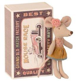 Maileg Maileg - Little Sister Mouse In Matchbox