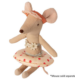 Maileg Maileg - Floatie Small Mouse Red Dot