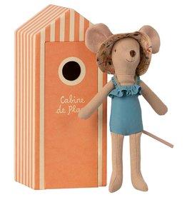 Maileg Maileg - Beach Mouse Mum In Cabin