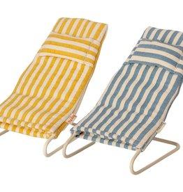 Maileg Maileg - Beach Chair Set Mouse