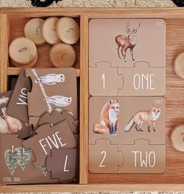 Modern Monty Modern Monty - Woodland Counting Puzzle