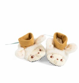 Moulin Roty Moulin Roty - Apres La Pluie Sheep Slippers 0-6 mths