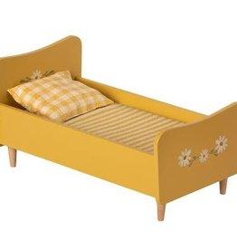 Maileg Maileg - Wooden Bed Mini Yellow