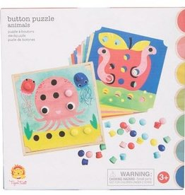Tiger Tribe Tiger Tribe - Button Puzzle Animals