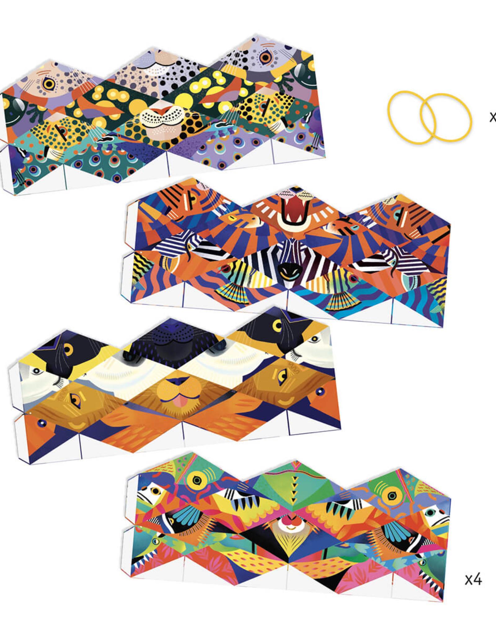Djeco Folding Art - Kaleidocycles