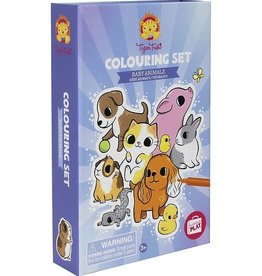 Tiger Tribe Tiger Tribe - Colouring Set Baby Animals