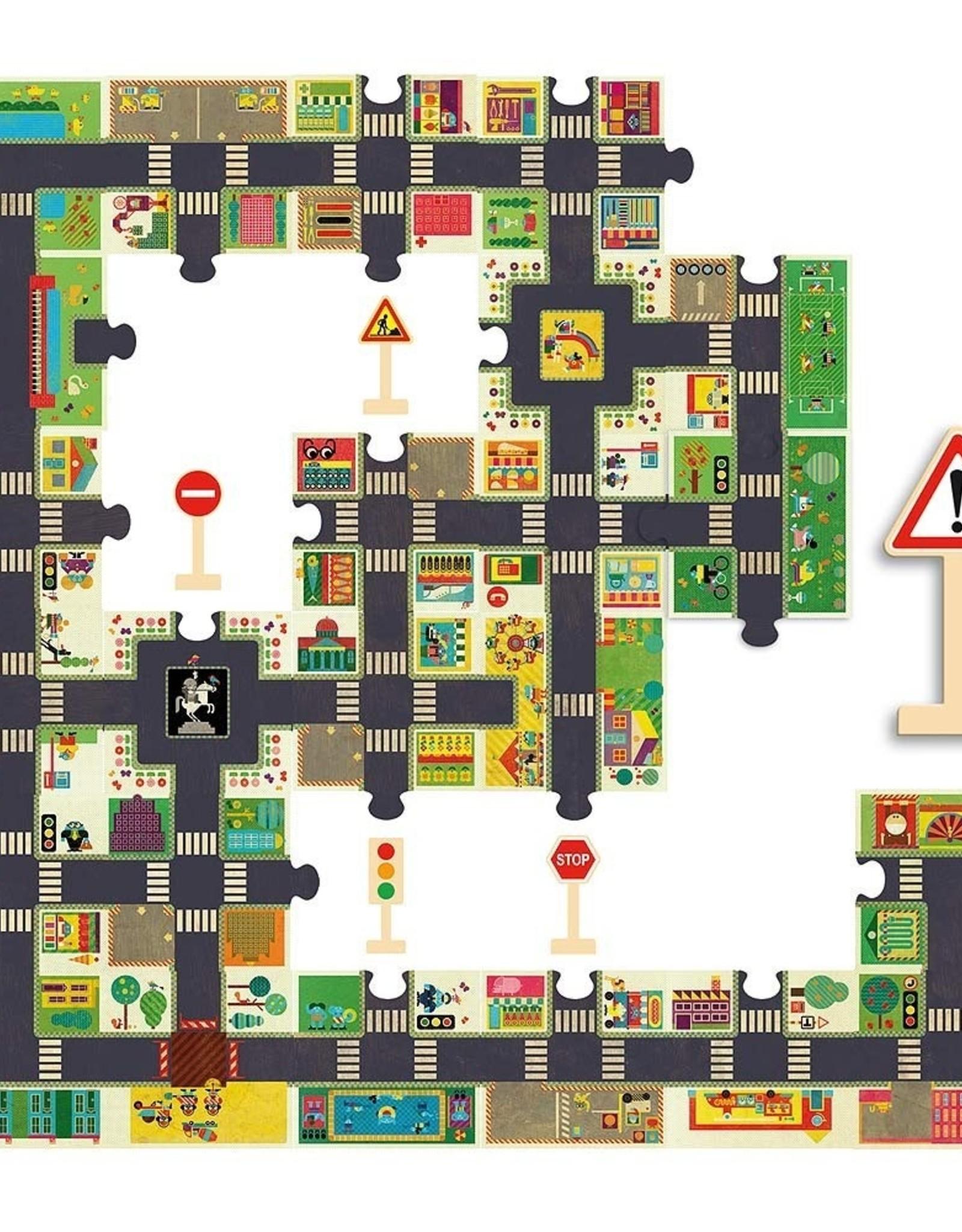 Djeco Djeco - Giant City Puzzle