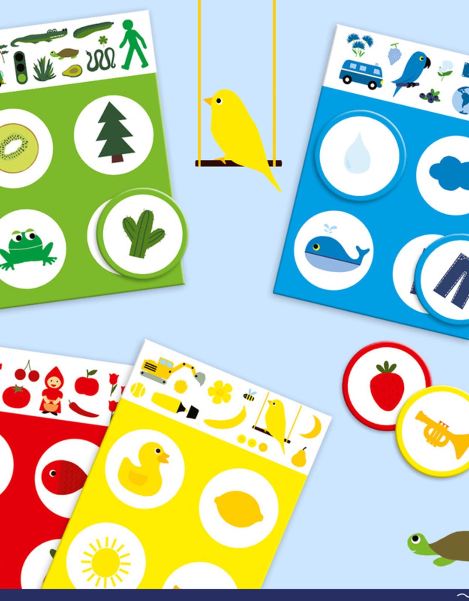 Djeco Djeco - Loto Colours Game
