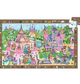 Djeco Observation Puzzle - Princess 54 pce