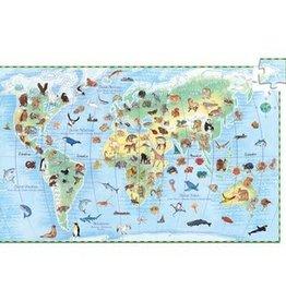 Djeco Observation Puzzle - Animals 100pce