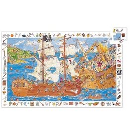 Djeco Observation Puzzle - Pirates 100pce