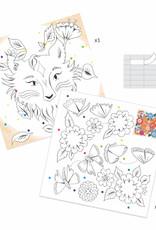 Djeco Djeco - Coloring Surprise Forest Friends