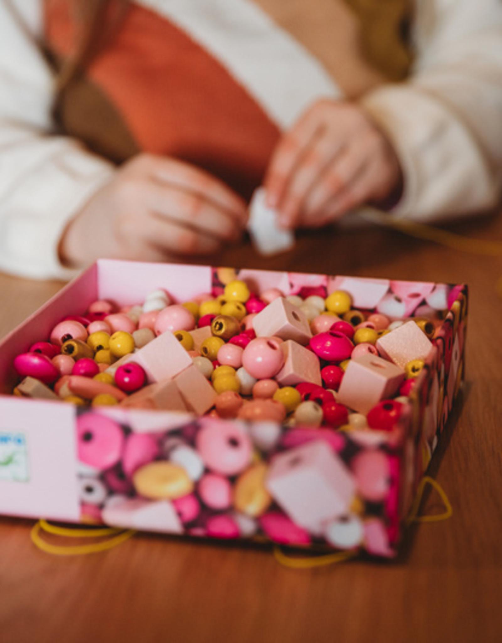 Djeco Djeco - Birds Wooden Beads