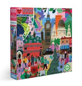 Eeboo Eeboo - London Life 1000 pc Puzzle