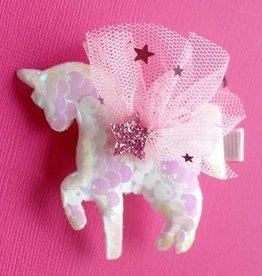 Lauren Hinkley Lauren Hinkley - Sequin Unicorn Hairclip