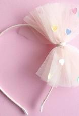 Lauren Hinkley Lauren Hinkley - Pastel Pink Heart Confetti Headband