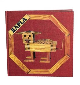 Kapla Kapla - Red  Art Book