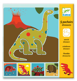 Djeco Djeco - Dinosaur Stencils