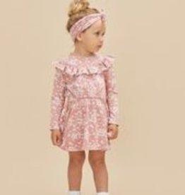 Huxbaby Huxbaby - Floral Frill Neck Dress