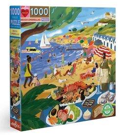 Eeboo EeBoo - Beach Umbrellas Puzzle 1000pce