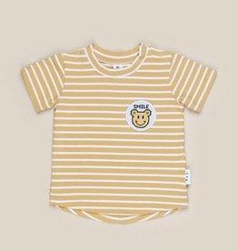 Huxbaby Huxbaby - Digi Smile Golden Stripe T- Shirt