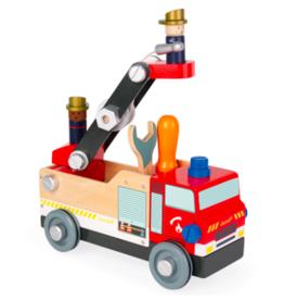 Janod Janod - Bricko Kids DIY Fire Truck