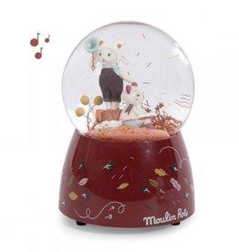 Moulin Roty Moulin Roty - Apres la Pluie Musical Snow Globe