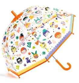 Djeco Colour Change Umbrella - Faces
